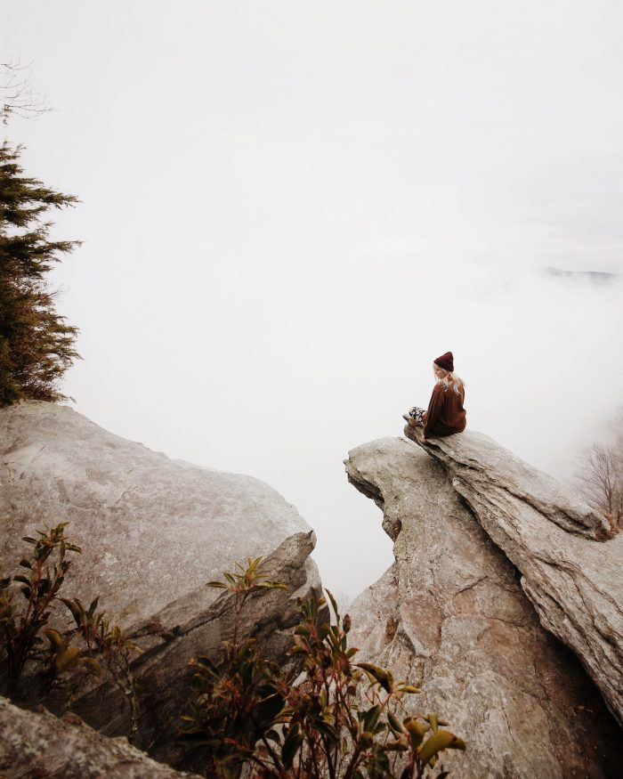 Solitude with nature