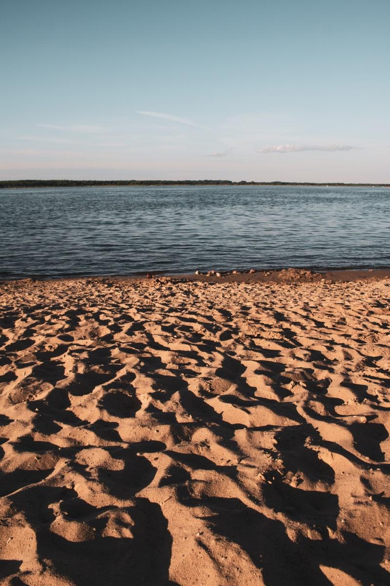 plaża stary dwór zalew siemianówka