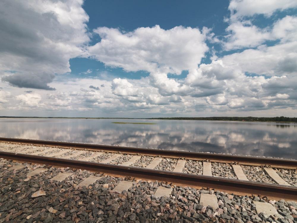 przejazd kolejowy zalew siemianówka