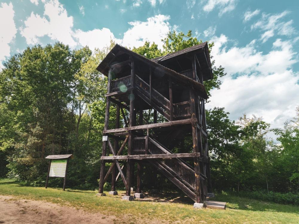 wieża widokowa Zalew Siemianówka